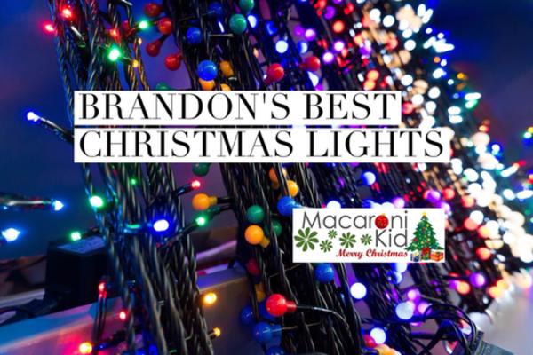 Brandon's Best Christmas Lights! | Macaroni Kid
