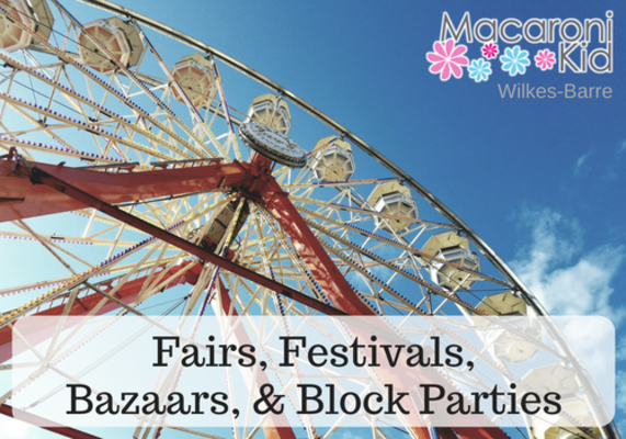 🎡 Fairs, Festivals, Bazaars, Block Parties, & More in and