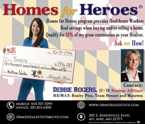 Debbie Rogers Homes For Heroes Realtor Affiliate Macaroni Kid