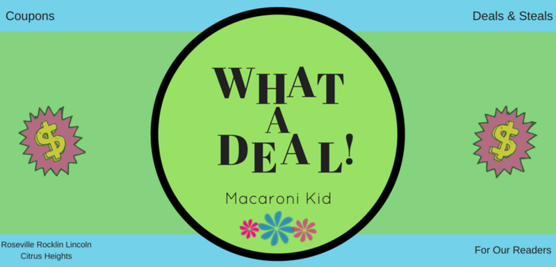 DEALS and COUPONS for Macaroni Kid Readers | Macaroni Kid