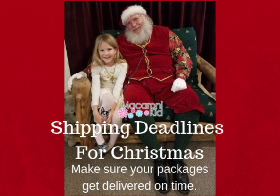 ... 2018 shipping deadlines for christmas png ...