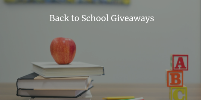 2019 Back to School FREE Supplies and Services Around North