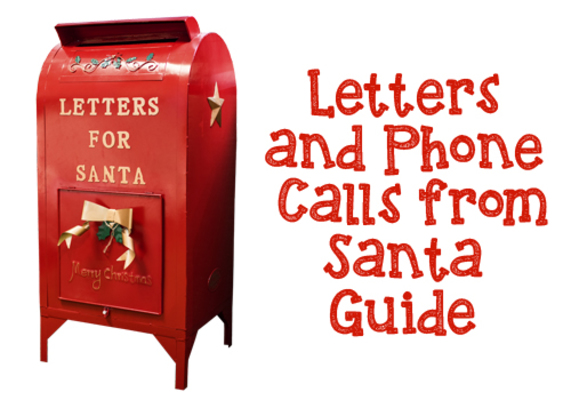 letters to santa and phone calls from santa