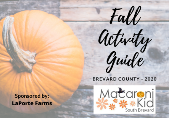 Brevard Halloween 2020 Fall Activity Guide for Brevard County 2020