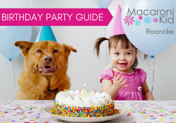 Birthday Party Ideas In Roanoke For Kids