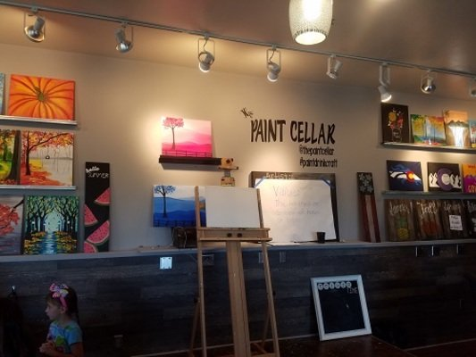 Art Camp At The Paint Cellar