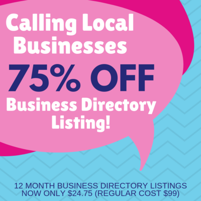 75% Off Business Directory Listings!