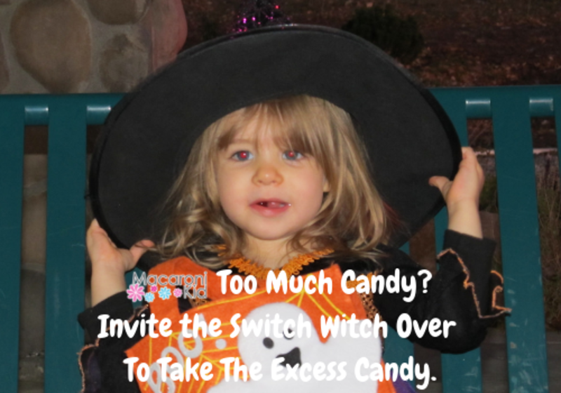 Too Much Candy? Switch Witch Can Help.