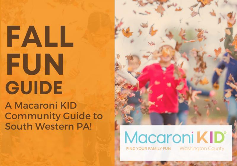 Fall Fun Guide South Western PA