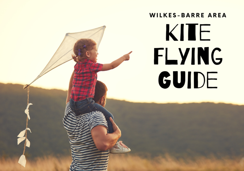 Where to fly a kite in Wilkes-Barre Dallas Kingston Mountian Top Pittston