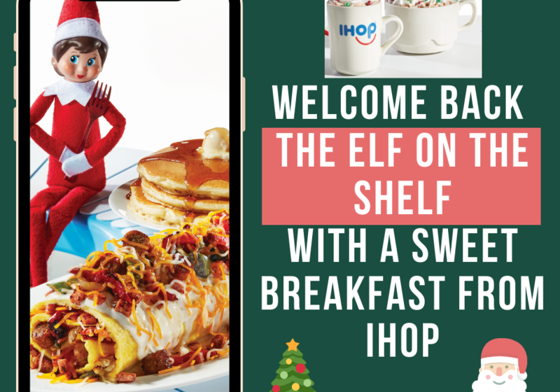 Elf with a Sweet IHOP Breakfast