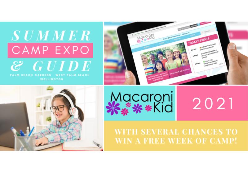 Summer Camp Guide! Palm Beach Gardens-Jupiter & More 2021