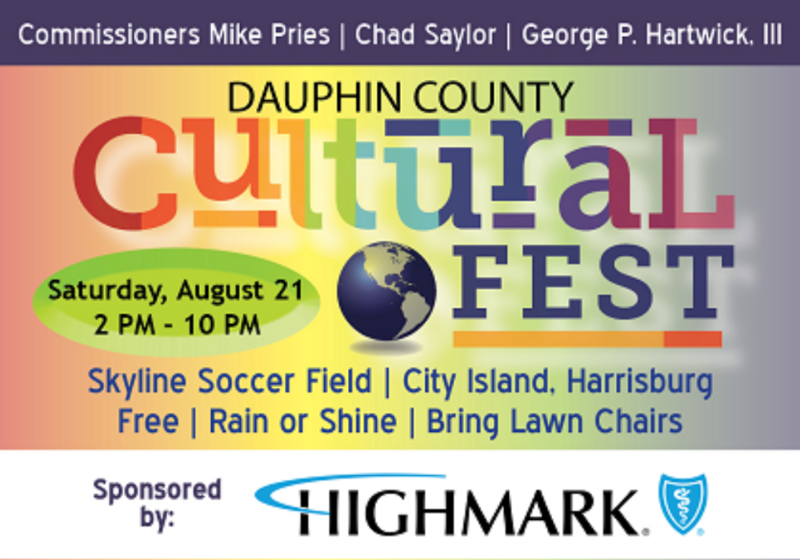 Dauphin County Cultural Festival on August 21