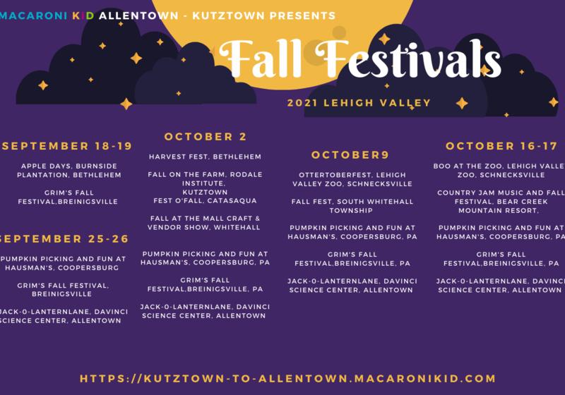 Fall Festivals Halloween Lehigh Valley Family Fun