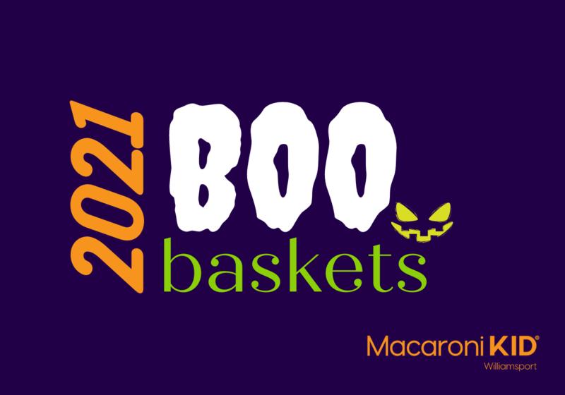 Boo Baskets, Boo'd, Halloween Fun