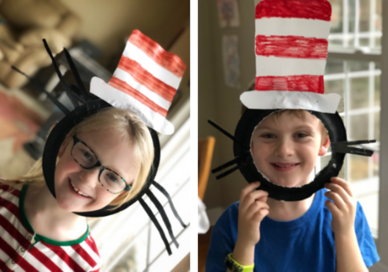5c0571cb8 Celebrate Dr. Seuss s Birthday March 2 With a Cat in the Hat Craft