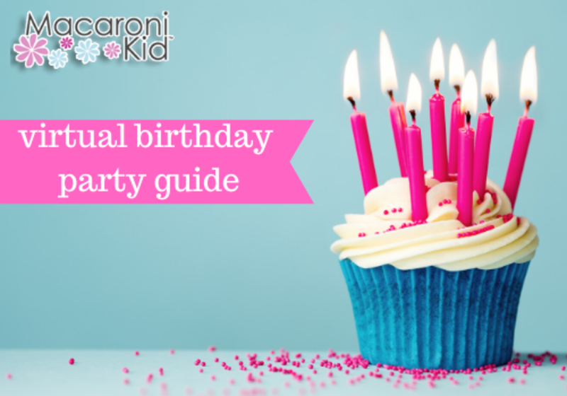 Tremendous Virtual Birthday Party Guide Personalised Birthday Cards Veneteletsinfo