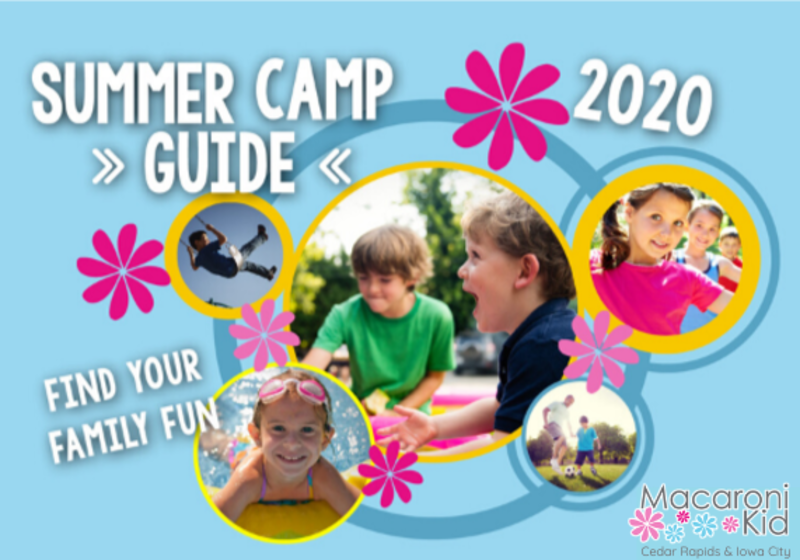 Cedar Rapids and Iowa City Summer Camps Events and Activities