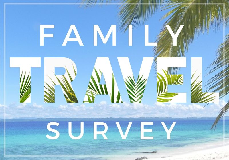 Family Travel Survey, Beach Scene