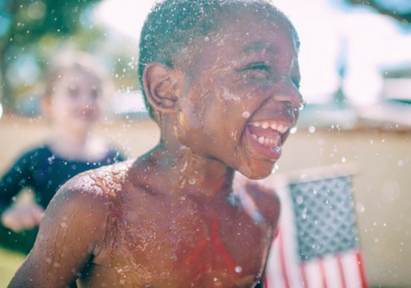 Splash pads, open swim pools and lakes with lifeguards