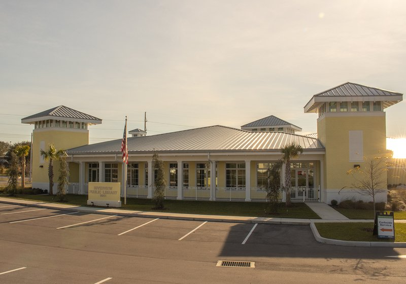 An image of the Riverview Public Library