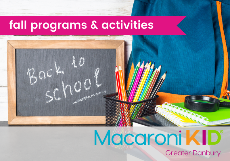 Fall programs and activities