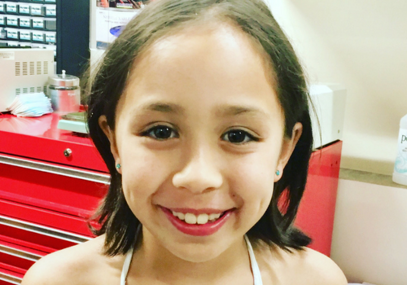 When is it safe to get a child's ears pierced?