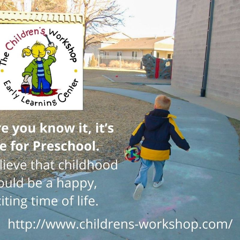 Before You Know It It's Time For Preschool