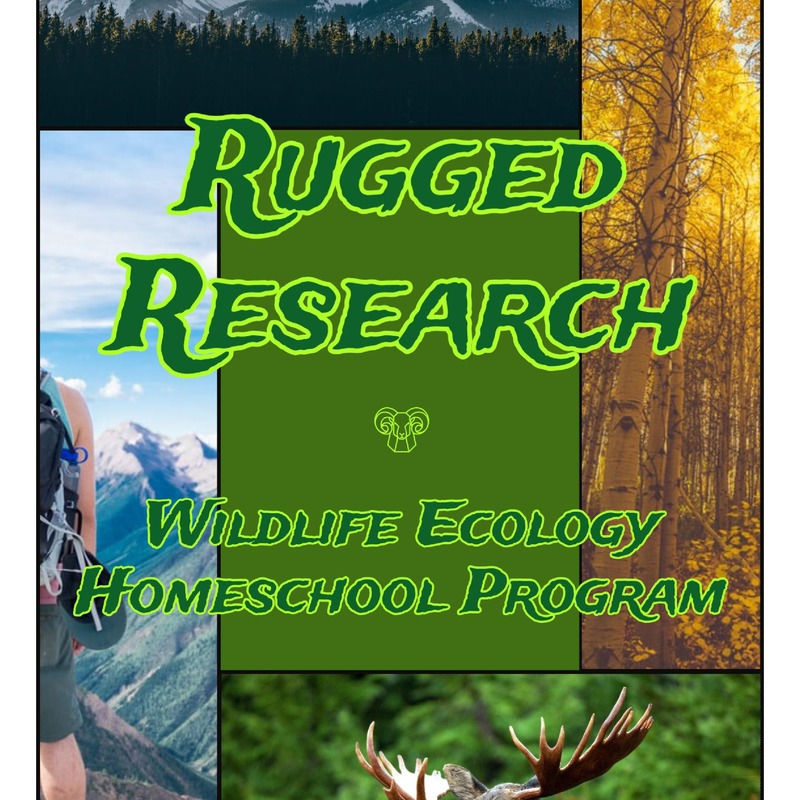 Rugged Research Wildlife Ecology Homeschool Program