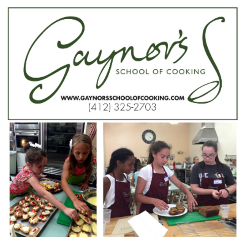 Gaynor's School of Cooking Summer Camps
