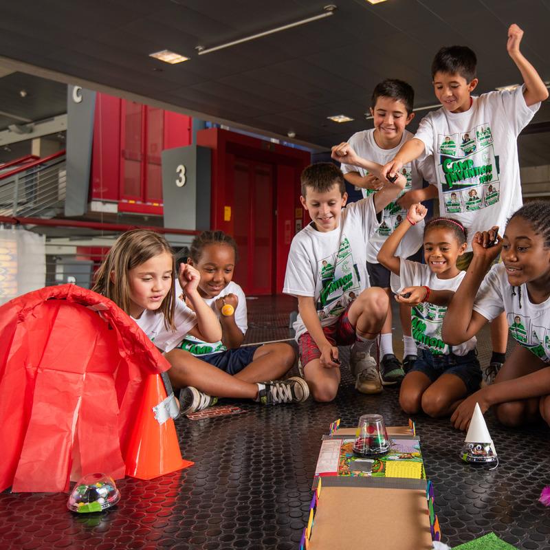 Kids having fun at Camp Invention