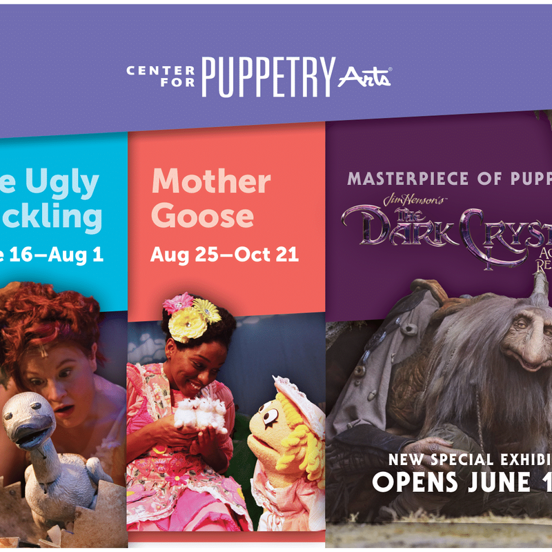 puppets and characters
