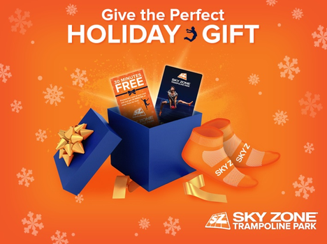 Sky Zone Ocean Parties Holiday Gift Cards Extended Holiday