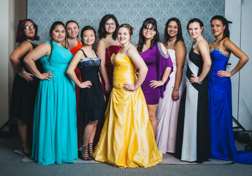 Prom Dresses Available During Glass Slipper