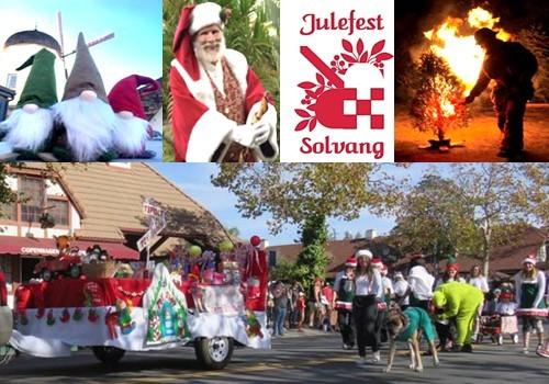 Solvang Ca Christmas.2018 Solvang Julefest Holiday Events December 1 January 4