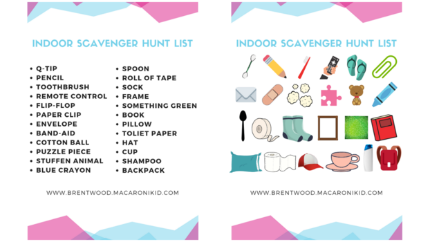 It is a picture of Printable Scavenger Hunt for Kids in halloween