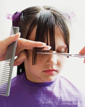 Cozy S Cuts For Kids Presents How To Do A Girls Basic Haircut