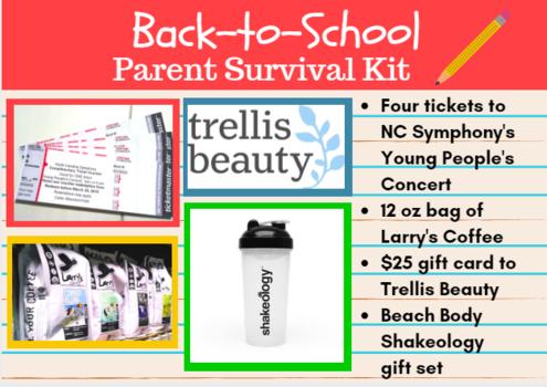 Instagram Giveaway: Parent Survival Kit
