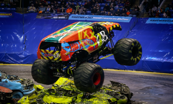 Win A Family 4 Pack Of Tickets To Hot Wheels Monster Trucks Live