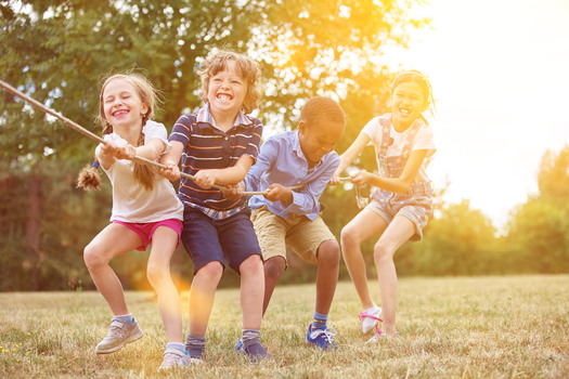 Tips For Teaching Your Children Teamwork Macaroni Kid - Dad entertains 5 kids
