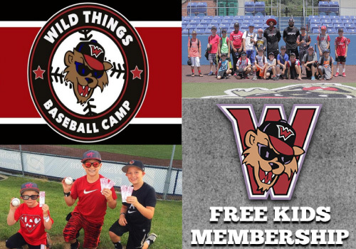 Sign up for FREE Kids Membership! PLUS - Baseball Summer Camps!