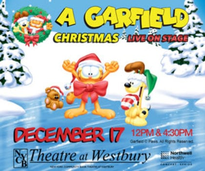 Garfield Christmas.Cancelled Garfield Christmas Live On Stage At Nycb Theatre