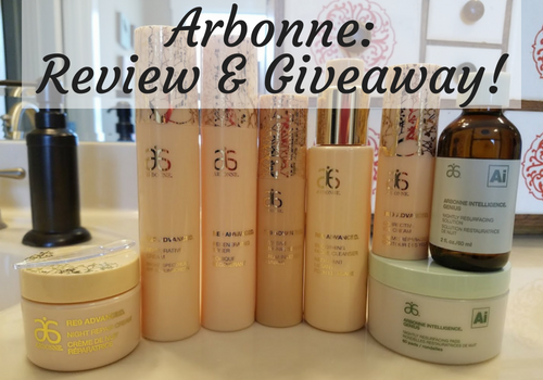 GIVEAWAY** All Natural Arbonne Products Review for Babies