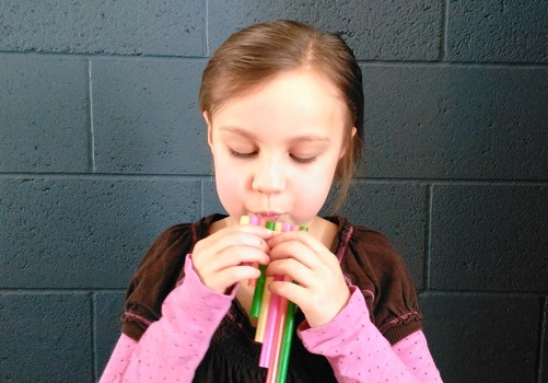 Make Your Own Pan Flute with Straws