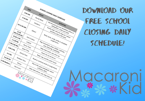 Daily Schedule Template For Kids from api.macaronikid.com