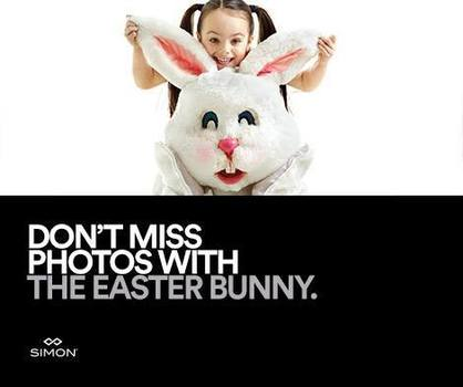 Image result for Easter Bunny Photo Experience coming soon to Atlanta-area Simon centers