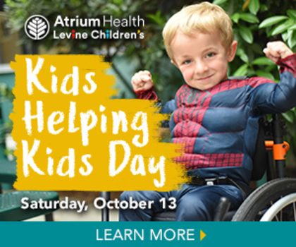 save the date kids helping kids at levine children s hospital