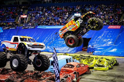 Hot Wheels Monster Trucks Live Preshow Party