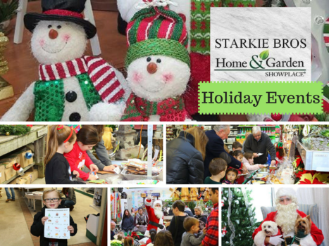 Holiday Events.png. Santa Claus Is Coming To Starkie Brothers Garden Center  ...