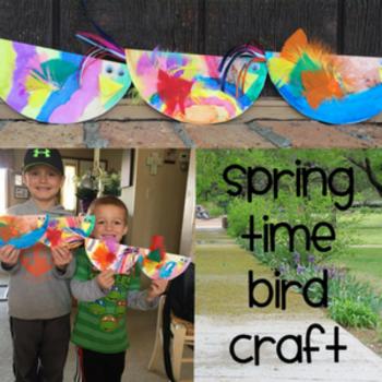 Spring Time Bird Craft Macaroni Kid